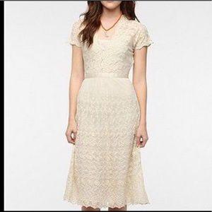 ° UO Idyll Boho Cream Dress °